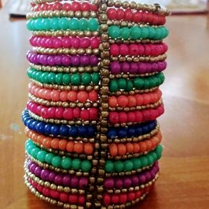 Macy's, colorful, bangle, bracelet.